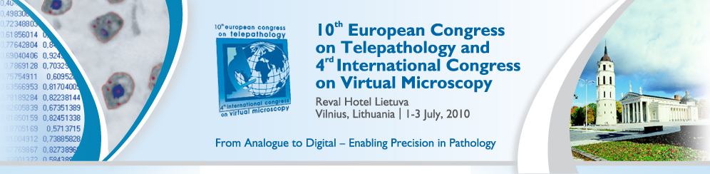 10 Europan Congress on Telepathology
